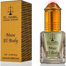 Misk, Musk El Body von El Nabil - weißer Moschus mit einer blumigen Note, Roll-on, 5ml, image 1