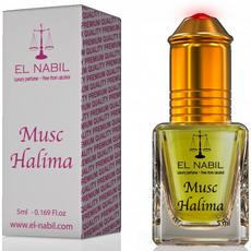 Misk, Musk Halima von El Nabil - holziges Karamell mit Bernstein Moschus, Roll-on, 5ml, image 1
