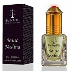 Misk, Musk Medina von El Nabil - zyperischer und blumiger Duft mit Huch von Rosen, Roll-on, 5ml, image 1