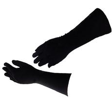 Handschuhe schwarz - mittellang, image