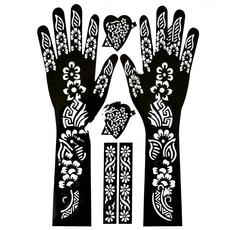 Henna Schablone, image