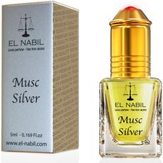 """EL Nabil """" Musc Silver """"-5 ml- ( Bestseller ), image"""