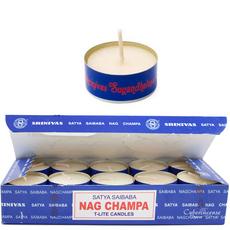 Satya Sai Baba Nag Champa Teelichte, image
