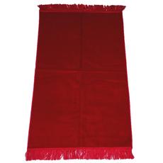 Gebetsteppich in verschiedenen Farben - seidenglänzend, Farbe: Bordeaux, Maße (cm): 110 x 71, image