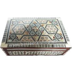 Hochwertige Holz SCHATULLE - Aus Marokko, image