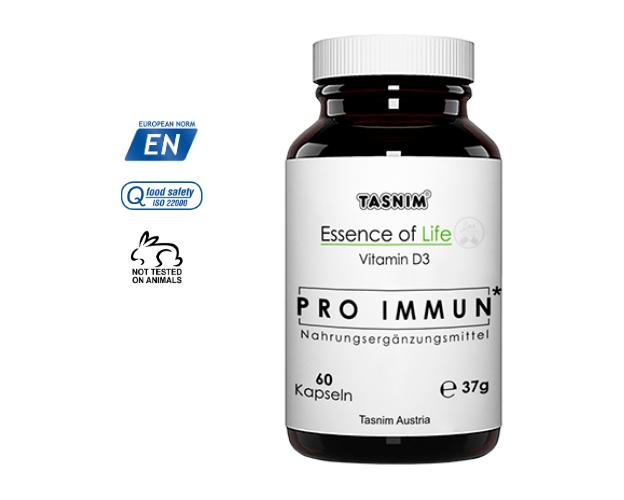 Pro Immun - Vitamin D3 - 60 Kapseln, image