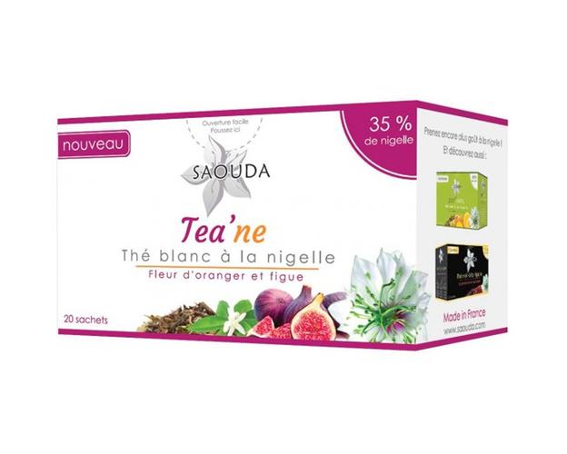 5 X schwarzkümmel-Tee - Weisser Tee, image