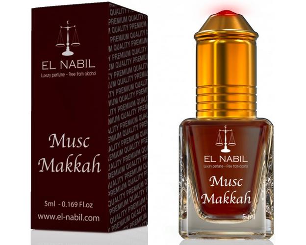 Misk, Musk Makkah von El Nabil - Duft von Vanille und weißem Moschus, Roll-on, 5ml, image