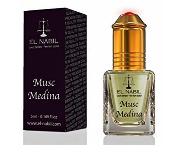 Misk, Musk Medina von El Nabil - zyperischer und blumiger Duft mit Huch von Rosen, Roll-on, 5ml, image