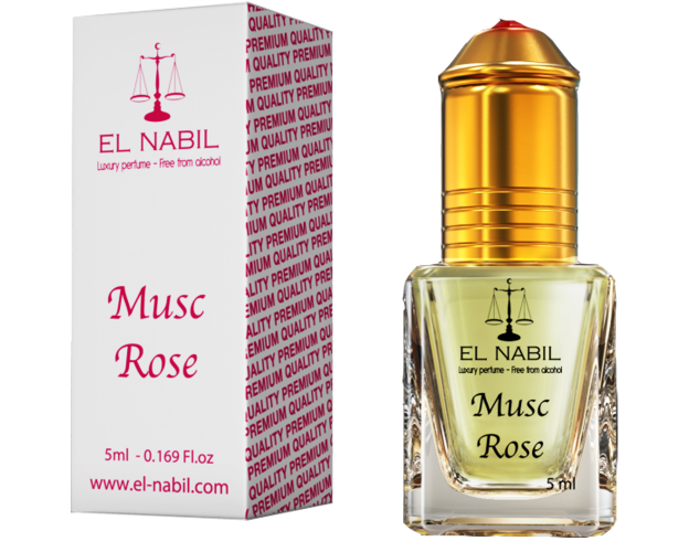 """EL Nabil """" Musc Rose """"-5 ml, image"""