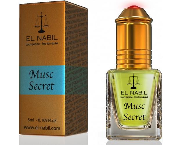 "El Nabil "" Musc Secret "" - 5 ml, image"