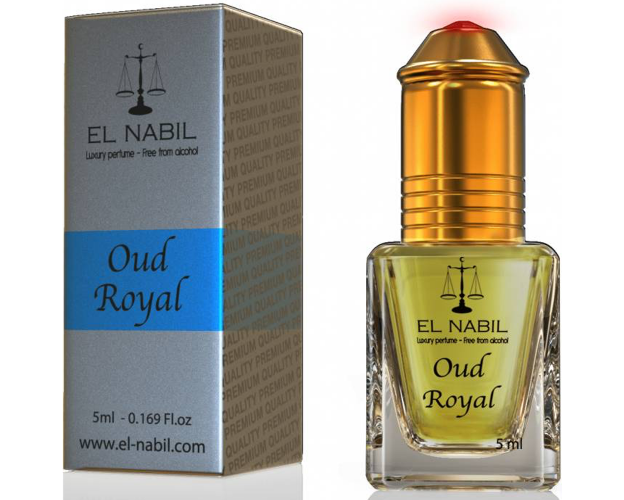 """EL Nabil """" Oud Royal """"-5 ml- ( Bestseller ), image"""